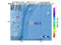 地震震源マップ:2017年03月23日 15時33分 三陸沖 M3.9