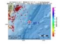 地震震源マップ:2017年03月24日 01時19分 関東東方沖 M3.8