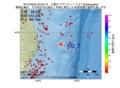地震震源マップ:2017年03月24日 23時55分 三陸沖 M2.7