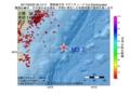 地震震源マップ:2017年03月25日 00時14分 関東東方沖 M3.2