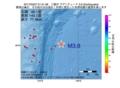 地震震源マップ:2017年03月27日 01時51分 三陸沖 M3.8