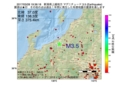 地震震源マップ:2017年03月28日 19時36分 新潟県上越地方 M3.5