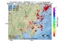 地震震源マップ:2017年03月28日 21時26分 茨城県南部 M2.7