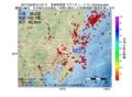 地震震源マップ:2017年03月28日 21時37分 茨城県南部 M3.1