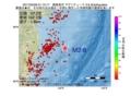 地震震源マップ:2017年03月29日 01時15分 福島県沖 M2.6