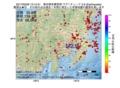 地震震源マップ:2017年03月29日 13時14分 東京都多摩西部 M2.9