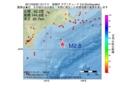 地震震源マップ:2017年03月29日 13時17分 釧路沖 M2.8