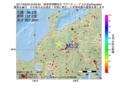地震震源マップ:2017年03月29日 20時09分 岐阜県飛騨地方 M3.2