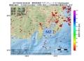地震震源マップ:2017年03月30日 09時06分 静岡県東部 M2.7
