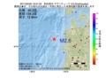 地震震源マップ:2017年03月30日 19時31分 秋田県沖 M2.6