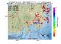 地震震源マップ:2017年03月31日 02時15分 神奈川県西部 M2.5