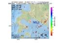 地震震源マップ:2017年03月31日 12時56分 苫小牧沖 M3.0