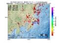 地震震源マップ:2017年04月01日 06時27分 東京湾 M2.9