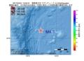 地震震源マップ:2017年04月01日 13時52分 関東東方沖 M4.3