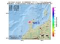 地震震源マップ:2017年04月01日 19時43分 石川県能登地方 M3.0