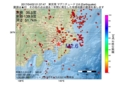 地震震源マップ:2017年04月02日 01時37分 東京湾 M2.6