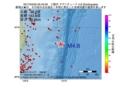 地震震源マップ:2017年04月02日 05時43分 三陸沖 M4.8