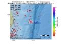 地震震源マップ:2017年04月02日 08時10分 三陸沖 M3.1