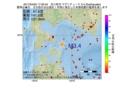 地震震源マップ:2017年04月02日 17時30分 苫小牧沖 M3.4