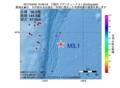 地震震源マップ:2017年04月02日 19時46分 三陸沖 M3.1