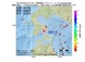 地震震源マップ:2017年04月03日 07時47分 津軽海峡 M2.5