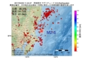 地震震源マップ:2017年04月03日 11時44分 茨城県沖 M2.6