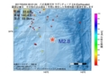 地震震源マップ:2017年04月04日 00時31分 八丈島東方沖 M2.8