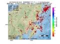 地震震源マップ:2017年04月04日 06時19分 茨城県南部 M2.8