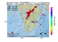 地震震源マップ:2017年04月04日 07時29分 鹿児島県薩摩地方 M3.0