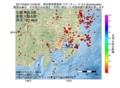 地震震源マップ:2017年04月04日 15時08分 東京都多摩東部 M2.5