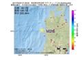 地震震源マップ:2017年04月04日 21時59分 秋田県沿岸北部 M2.5