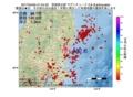 地震震源マップ:2017年04月05日 01時54分 茨城県北部 M2.8