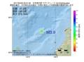 地震震源マップ:2017年04月05日 02時31分 日本海中部 M3.9