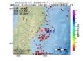 地震震源マップ:2017年04月05日 03時14分 宮城県沖 M2.6