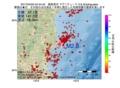 地震震源マップ:2017年04月05日 04時44分 福島県沖 M2.8