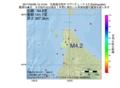 地震震源マップ:2017年04月06日 15時14分 北海道北西沖 M4.2
