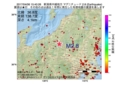 地震震源マップ:2017年04月06日 15時40分 新潟県中越地方 M2.8