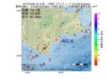 地震震源マップ:2017年04月06日 16時12分 十勝沖 M2.6