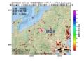 地震震源マップ:2017年04月06日 18時11分 新潟県中越地方 M2.8