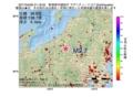 地震震源マップ:2017年04月06日 21時18分 新潟県中越地方 M2.7