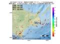 地震震源マップ:2017年04月07日 17時07分 釧路地方中南部 M2.6