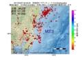 地震震源マップ:2017年04月07日 22時49分 茨城県沖 M3.3