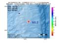 地震震源マップ:2017年04月08日 23時17分 八丈島東方沖 M5.2