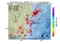 地震震源マップ:2017年04月09日 15時05分 茨城県沖 M2.5