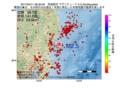 地震震源マップ:2017年04月11日 06時30分 茨城県沖 M2.5