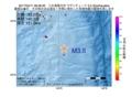 地震震源マップ:2017年04月11日 06時58分 八丈島東方沖 M3.5