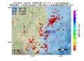 地震震源マップ:2017年04月11日 12時05分 茨城県北部 M2.6