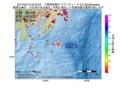 地震震源マップ:2017年04月12日 02時42分 千葉県南東沖 M2.5