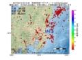 地震震源マップ:2017年04月12日 03時10分 茨城県南部 M4.8