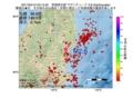 地震震源マップ:2017年04月12日 03時15分 茨城県北部 M2.6
